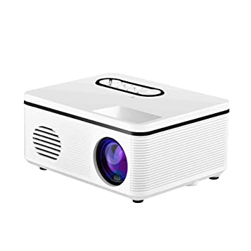 Mhwlai Mini proyector, Pantalla Full HD 1080P Proyector portátil ...