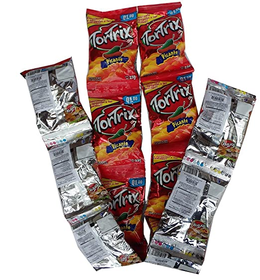 Amazon.com : Tortrix Spicy 0.88 oz (Pack of 12) - Picante (Pack of 1) : Grocery & Gourmet Food