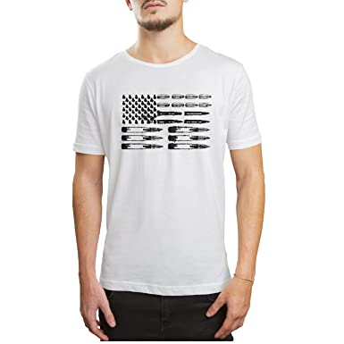 1b6471789 Amazon.com: OKSDLK Grunt Style Ammo Flag Men's Short Sleeve Shirts  ColorName Crazy Shirts: Clothing