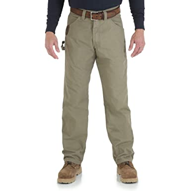 b49f1c3d43 Wrangler Riggs Workwear Men's Ripstop Carpenter Jean: Amazon.com.au ...
