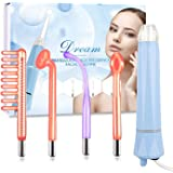 High Frequency Facial Machine for Face Eyes Skin Tightening Professional Wrinkle Reducing Hair-Scalp Stimulator