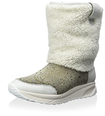 Women's Zhinu Snow Boot With Crystal and Shearling Detail
