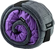 CORI Travel Pillow - World's 1st Customizable Memory Foam Travel Neck Pillow That ADAPTS to You for The Best Support, Comfor