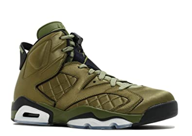 1e5d46977f67  Jordan Nike Air VI 6 Pinnacle Promo Flight Jacket Olive Green AH4614-303 US