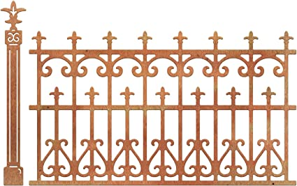 Amazon Com Cheery Lynn Designs Die Set Wrought Iron Fence