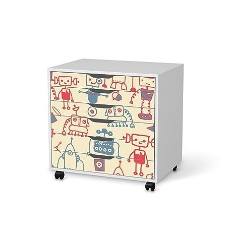 Juego de muebles de diseño de tatuaje de para IKEA Alex ...