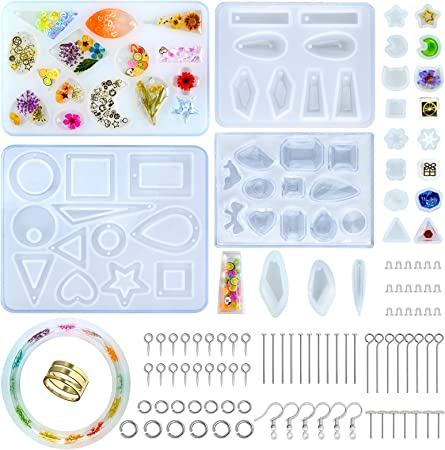 Crystal Epoxy Sea Shell Silicone Mould DIY Jewelry Making Ornament Craft Mold