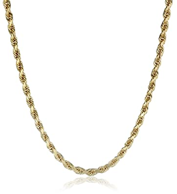 s women necklace gold i cuban inch chain white
