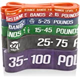 Exercise Resistance Bands - Individual or Complete Set