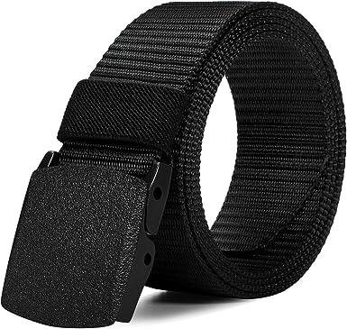 Men/'s Military Web Canvas Buckle Belt Waistband Tactical  Waist Straps Fast US
