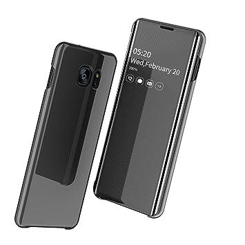 Funda para Samsung Galaxy S7 Edge Protectora Transparente teléfono ...