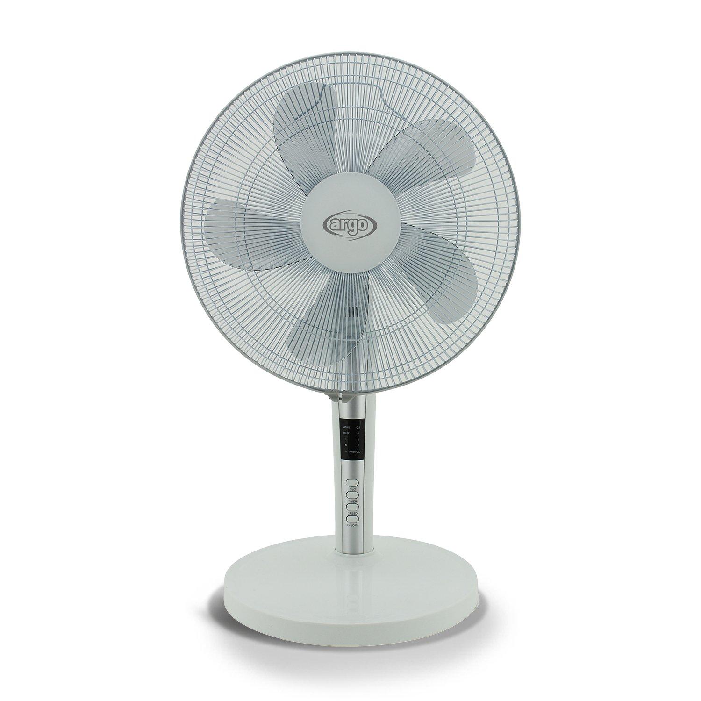 ARGO Tablo White Ventilador de Mesa, 60 W, ABS, 3 Velocidades, Blanco: Amazon.es: Bricolaje y herramientas
