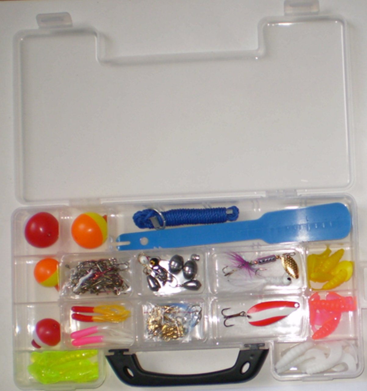 South Bend KIT-90 Fishing Tackle Kit, 137-Piece