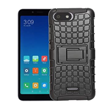 outlet store 74afe 866b2 Sadgatih Flexible Bumper Case For Redmi 6A (Black)