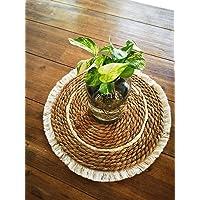 Seagrass Macrame Table mat