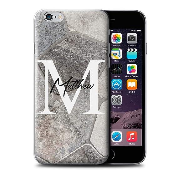amazon com personalized custom marble stone fashion case for apple