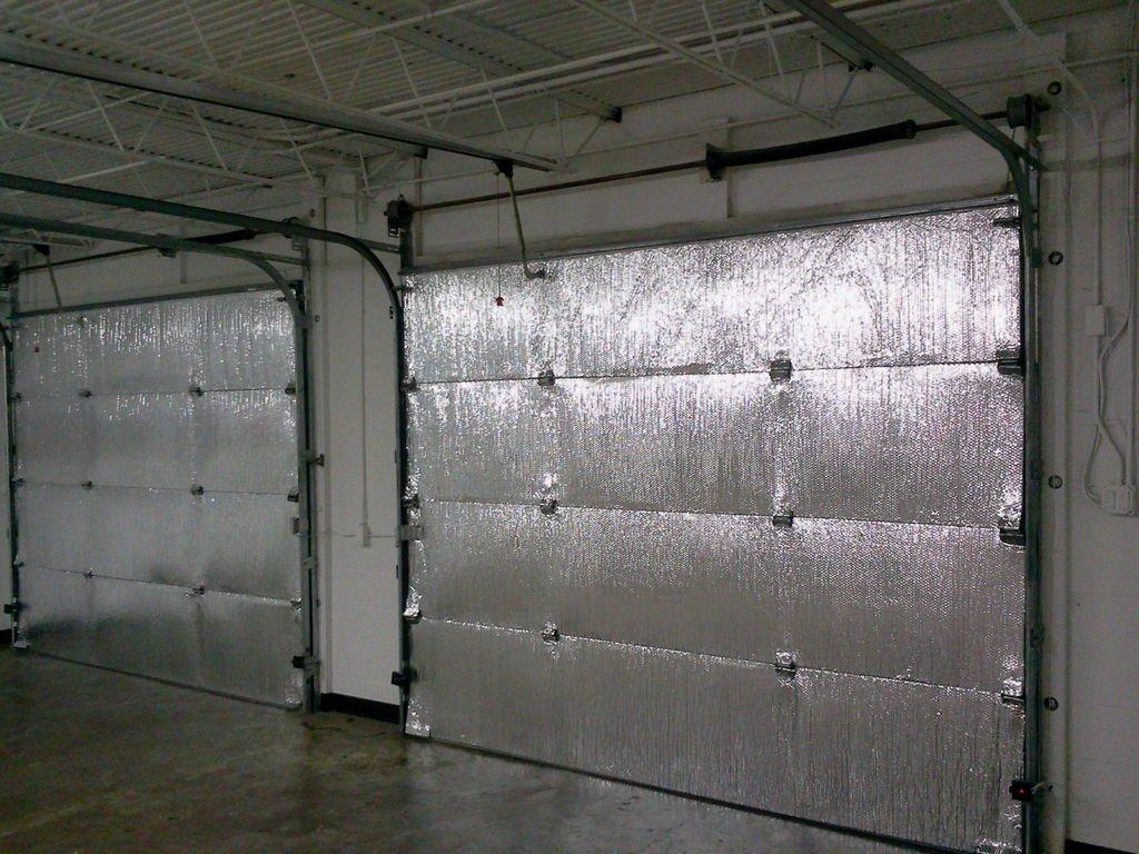 SmartGarage Reflective Garage Door Insulation Kit 9'Wx7'H Non Fiberglass, R Value 8 - Single ONE CAR Garage Door