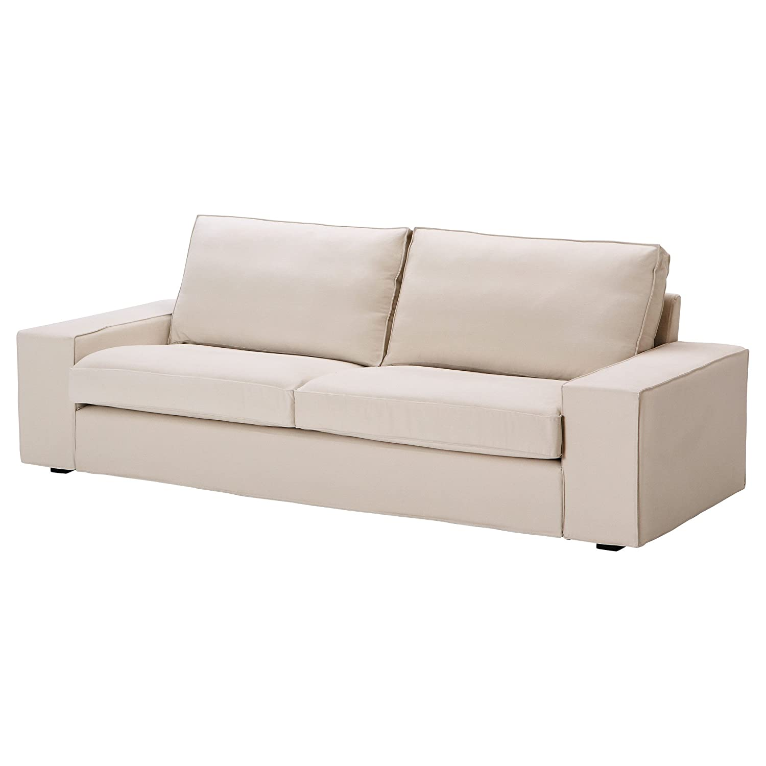 Amazon KIVIK Sofa slipcover Ingebo light beige IKEA Home