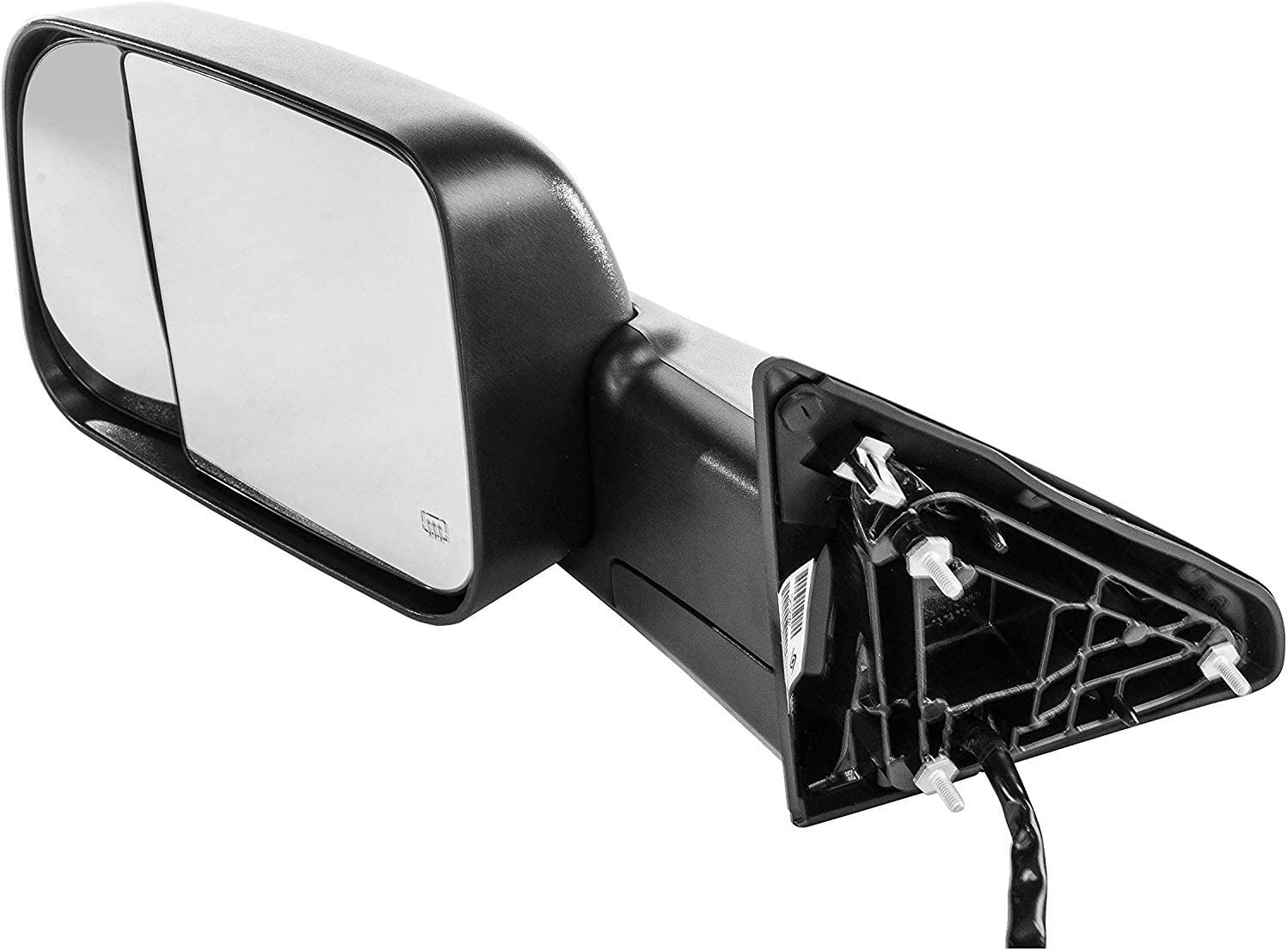 2013-2017 Dodge Ram 1500-2500-3500 Driver Side Towing Mirror; Power// Heated// Signal with Ambient Temp