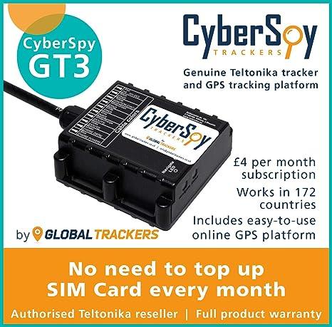 CyberSpy GT3 - Rastreador GPS para Coche, Caravana ...