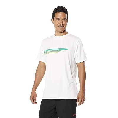 .com : Speedo Men's Uv Swim Shirt Graphic Short Sleeve Tee : Clothing