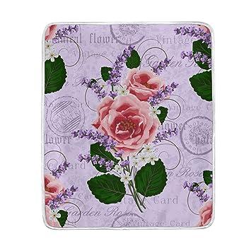 Amazon.com: My Little rodar clásico Floral rosas de color ...