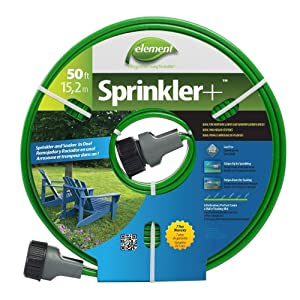 SWAN PRODUCTS GIDS-2496287 Element Sprinkler Soaker Hose, 50 Ft. - 2496287 50'