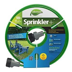 SWAN PRODUCTS GIDS-2496287 Element Sprinkler Soaker Hose, 50 Ft. - 2496287 50'