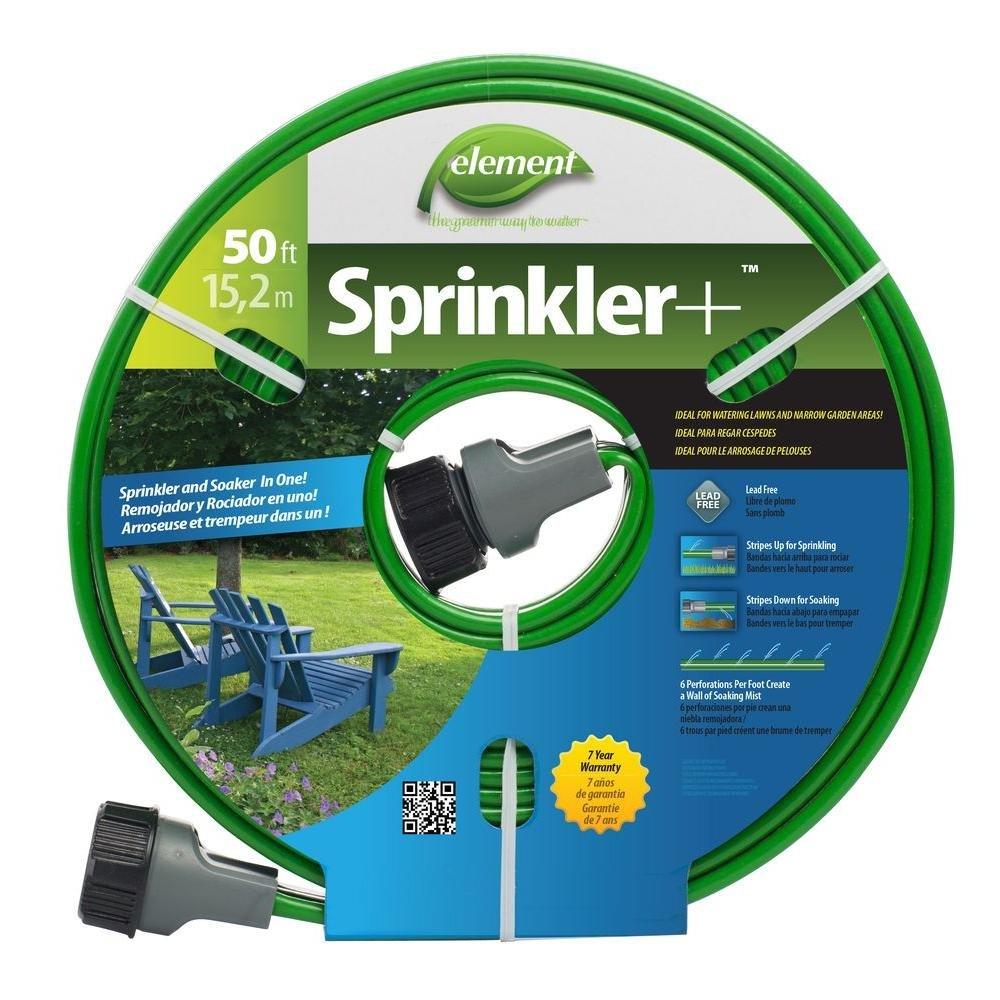 SWAN PRODUCTS GIDS-2496287 Element Sprinkler Soaker Hose, 50'