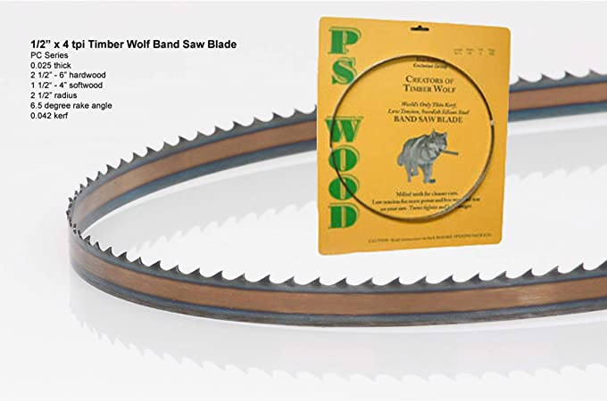 Timber Wolf Bandsaw Blade - Silicon Steel