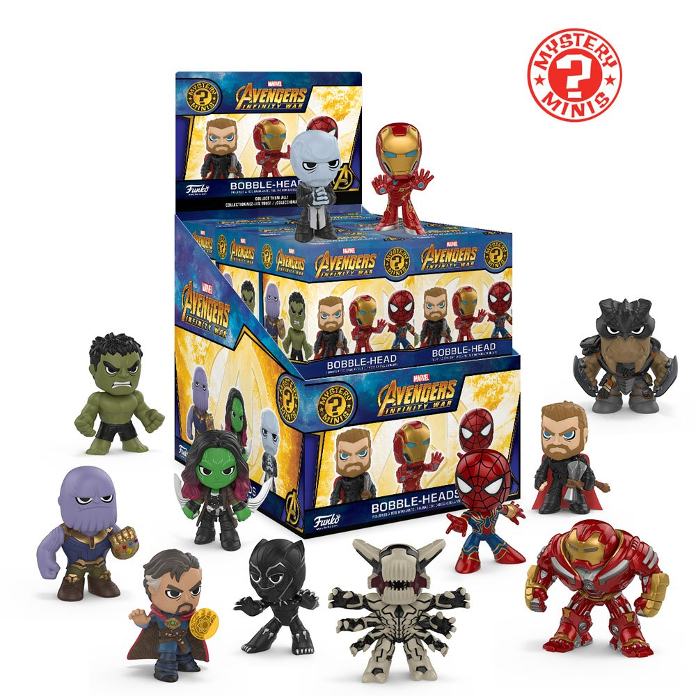 26896 Accessory Consumer Accessories One Mystery Figure Funko Mystery Minis Marvel Funko Mystery Mini Avengers Infinity War