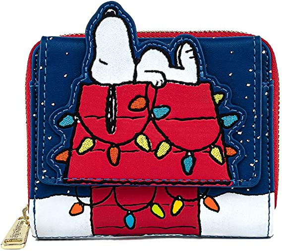 Passport Holder Zipper Pouch Snoopy Peanuts Travel Purse Snoopy Gift