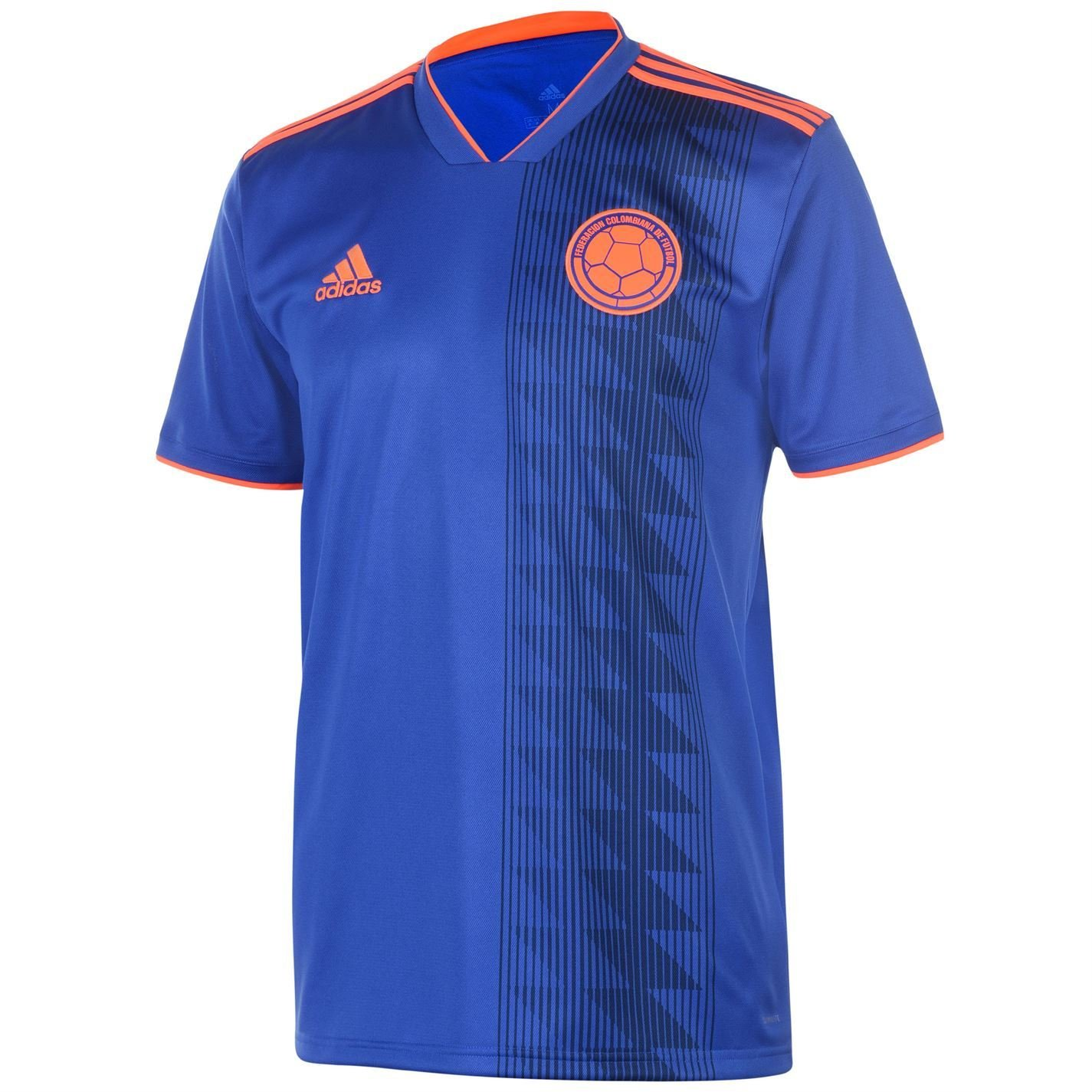 adidas 2018-2019 Colombia Away Football Shirt