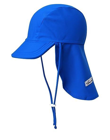 9c46521d Vaenait baby Infant & Kids Boys Sun Protection Sporty Flap Swim hat UV Flap  Cap Blue
