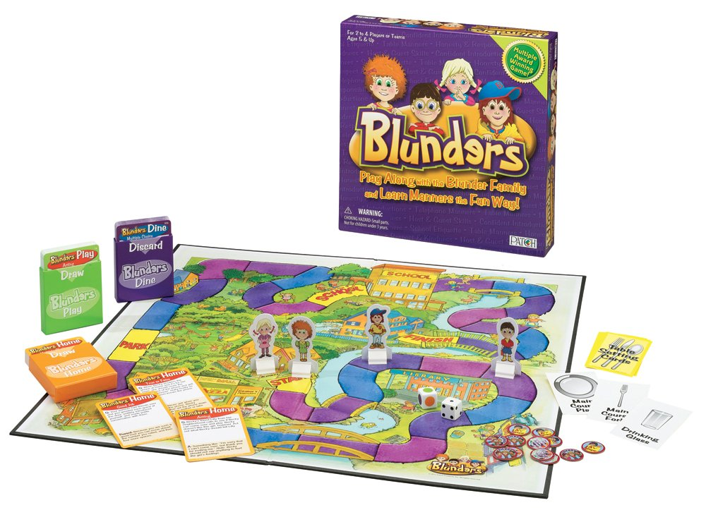 Successful Kids Patch Products Blunders Board Game