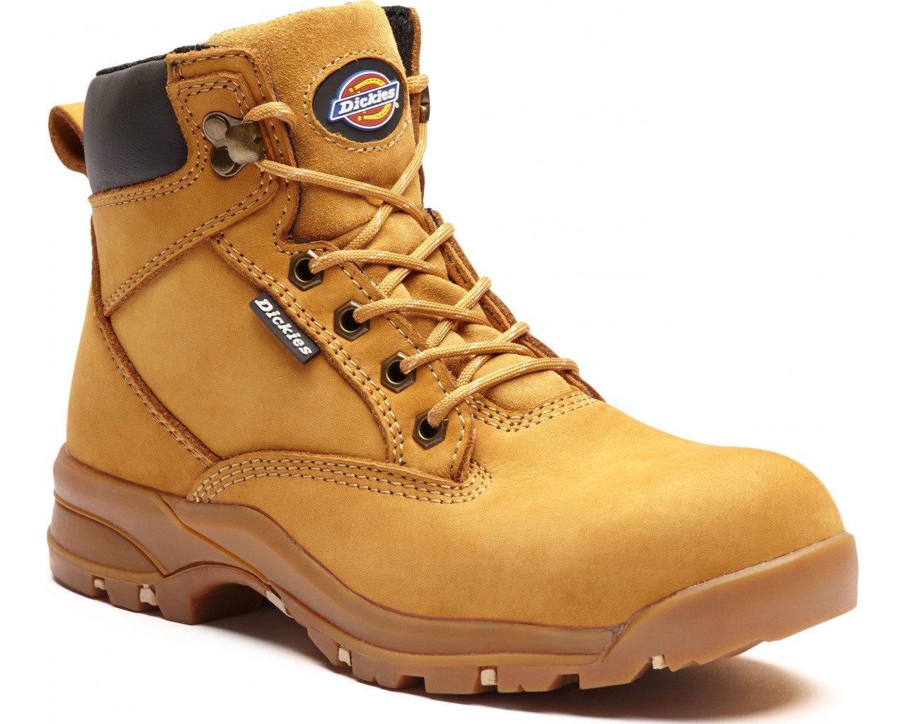 Dickies FC9523-HN-5.5 - Botas de seguridad para mujer (talla 5,5), color miel: Amazon.es: Industria, empresas y ciencia