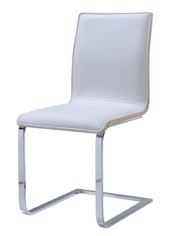Global Furniture Dining Chair White Pu