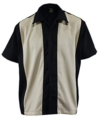 Camicia da Uomo da Bowling 630d72514821