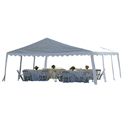 ShelterLogic Party Tent, White, 20 x 20 ft. : Garden & Outdoor