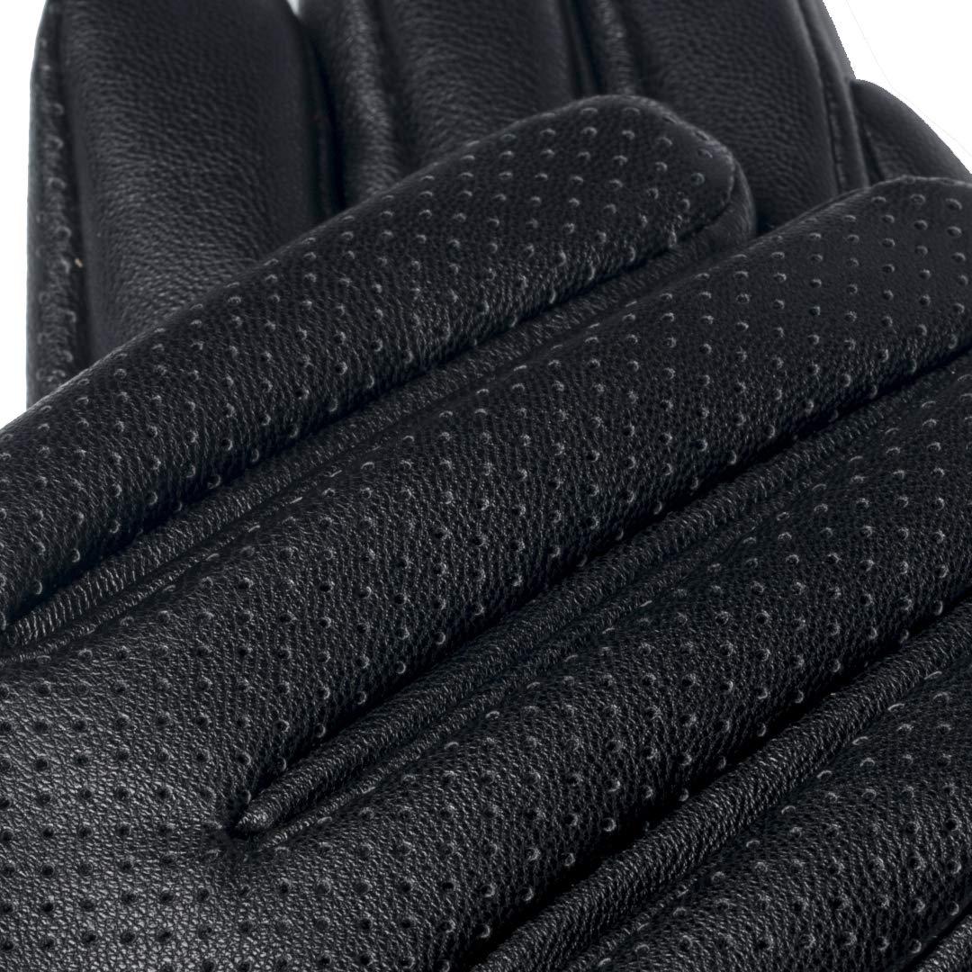 0730723dc5e6a2 napo gloves napoFEMME eco - modische Touchscreen Handschuhe für Damen aus  Kunstleder Schwarz, Lederhanschuhe für Winter: Amazon.de: Bekleidung
