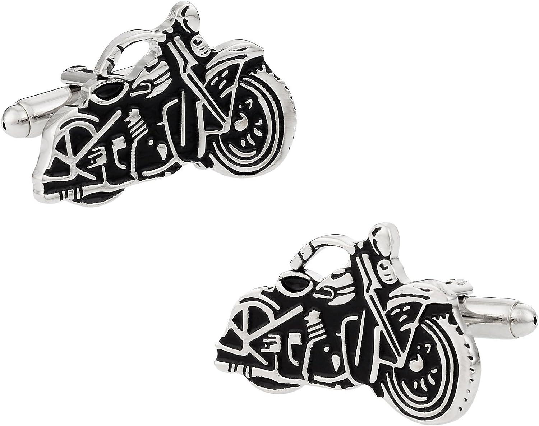 Cuff-Daddy Motorcycle Cufflinks with Presentation Box