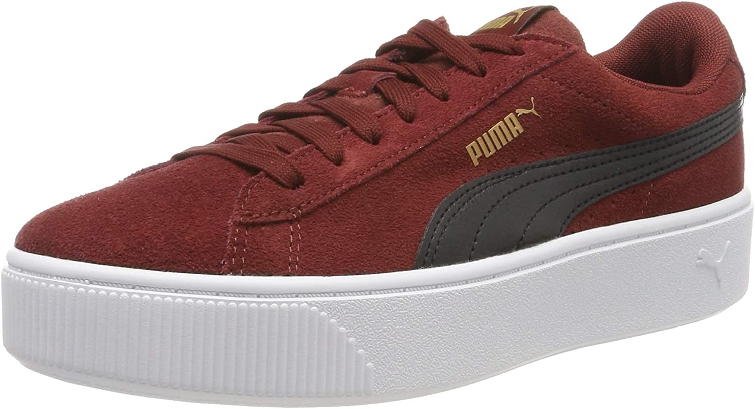 Puma Women's Vikky Stacked Sd Low Top Sneakers