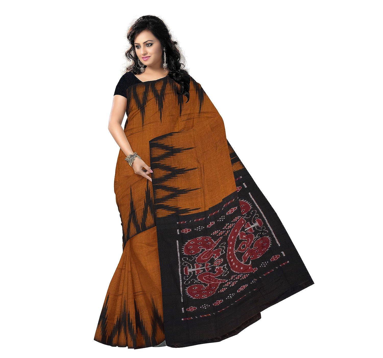 4ed8c009272 Odisha Saree Store Women s Kargil Cotton Saree with Blouse Piece (AMOD7434