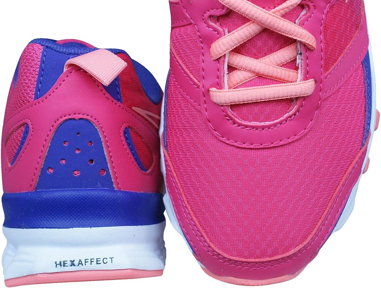 Reebok Hexaffect Run Girls Running Trainers//Shoes