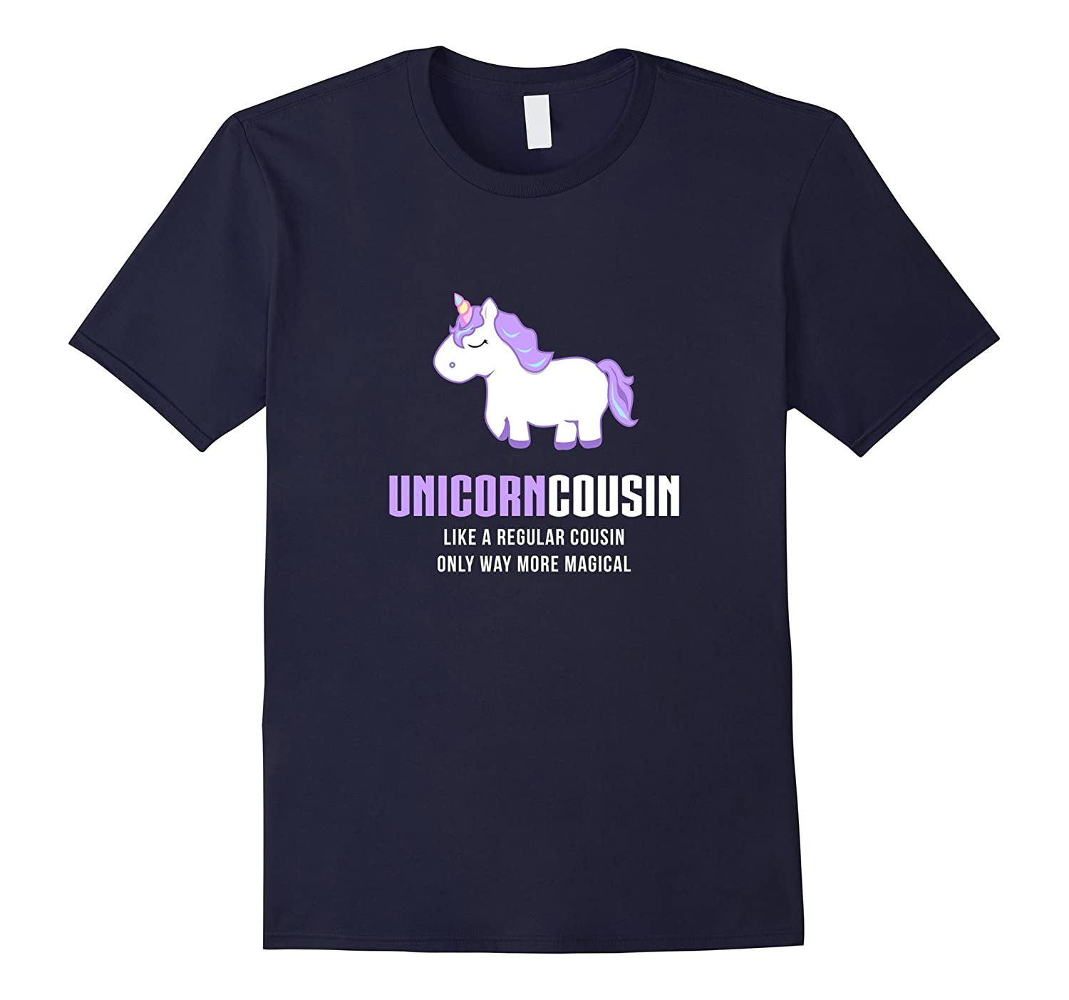 6f97ac6e6e22b8 Unicorn Cousin Shirt, Funny Cute Magical Gift-ANZ – Anztshirt