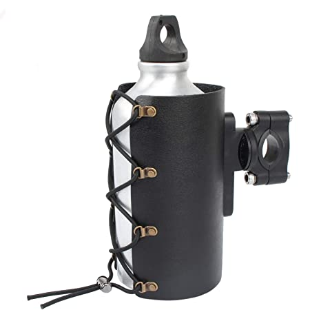 Amazon.com: Portavasos de piel para motocicleta, accesorios ...