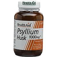 HealthAid 803090 Psyllium Husk, Fibre, 1000mg 60 Vegan Capsules