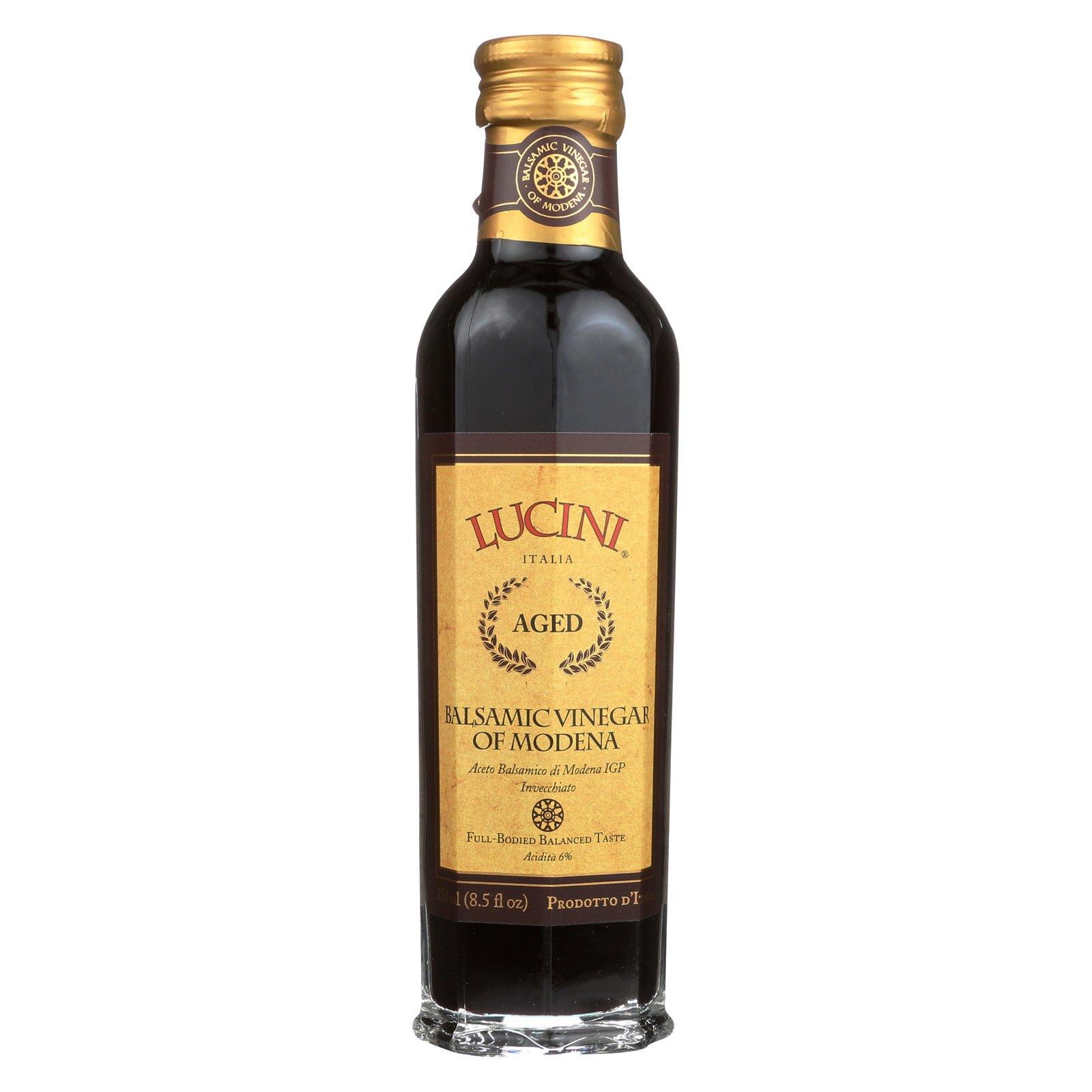 Lucini Italia Gran Riserva Balsamic Vinegar of Modena - Case of 6 - 8.5 Fl oz.