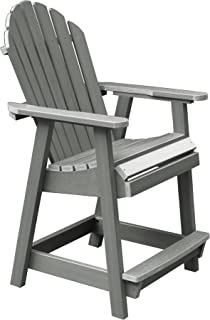 product image for Highwood AD-CHCA2-CGE Hamilton Counter Height Deck Chair, Coastal Teak