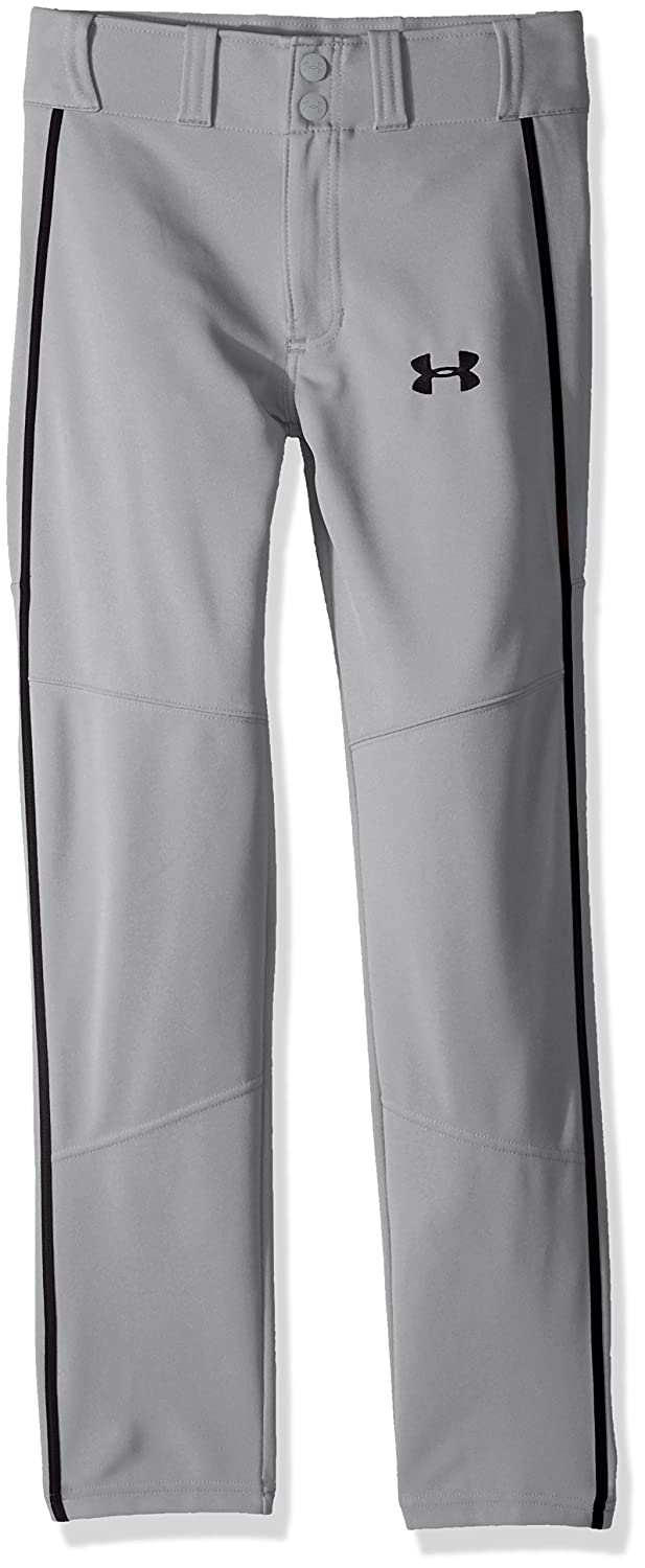 Under Armour 男の子用 Heater Piped Baseballシリーズ ベースボールパンツ 野球着 B071Z8QH6V Youth Medium|Baseball Gray/Black Baseball Gray/Black Youth Medium